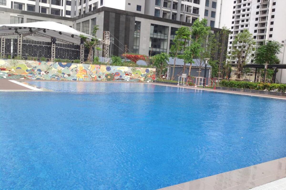 Bể bơi dự án TNR Goldmark City