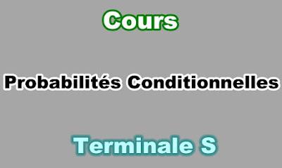 Cours de Probabilités Conditionnelles Terminale S PDF