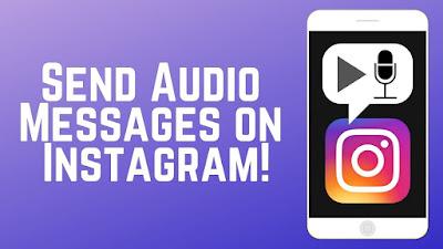2+ Cara Mengirim Voice Note di Instagram