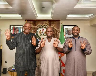 Kogi Election: The Battle Is Over As Faleke , Endorses Gov Yahaya Bello For 2nd Term