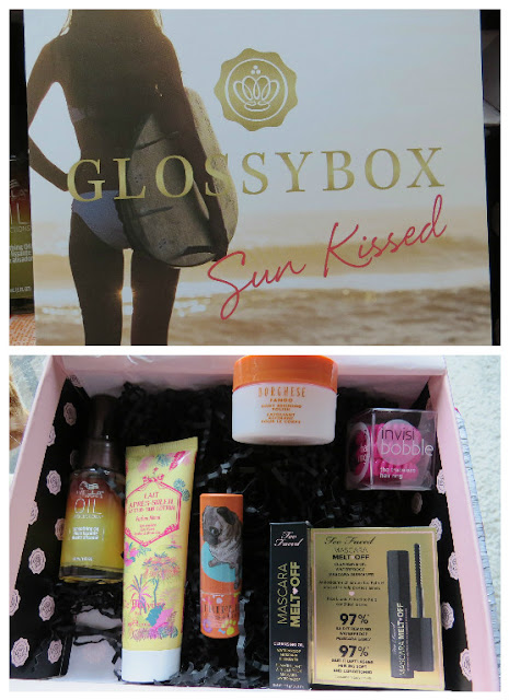 August 2016 GLOSSYBOX Review