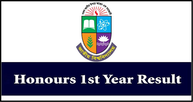 NU Honours 1st Year Result 2020 Session 2019