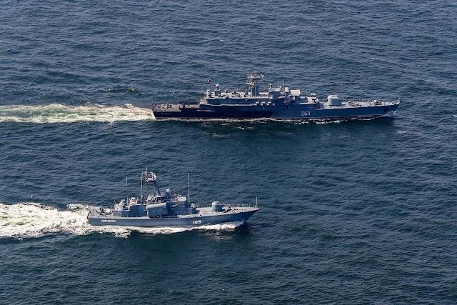 В Поти пройдут совместные учения кораблей НАТО и береговой обороны Грузии