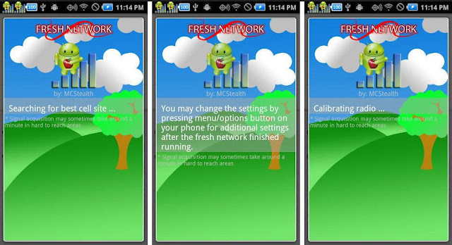 Aplikasi penguat sinyal android - fresh network booster