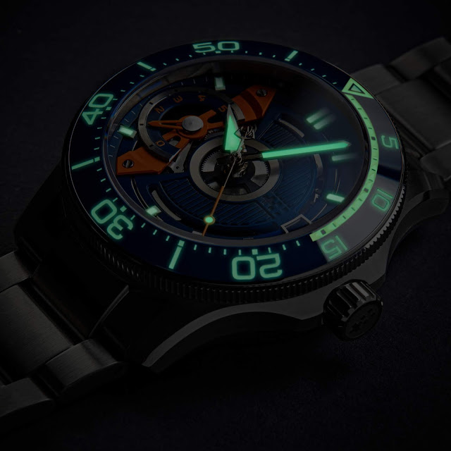 Christopher Ward C60 Apex Limited Edition lume