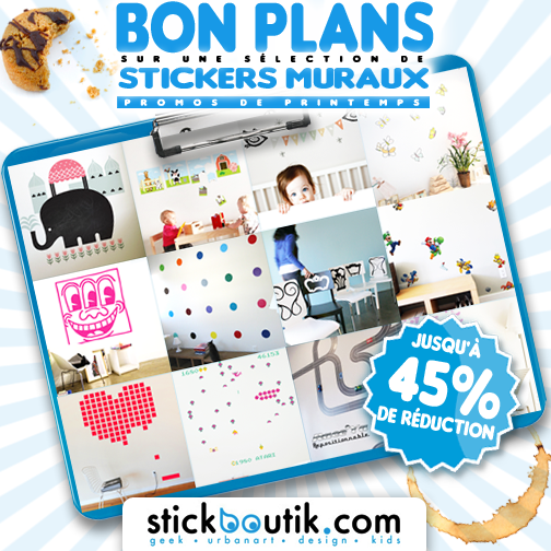 Stickboutik.com: Stickers en Promo jusqu'à 45% de réduction!