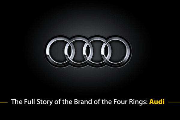 The Full Story of the Brand of the Four Rings: Audi