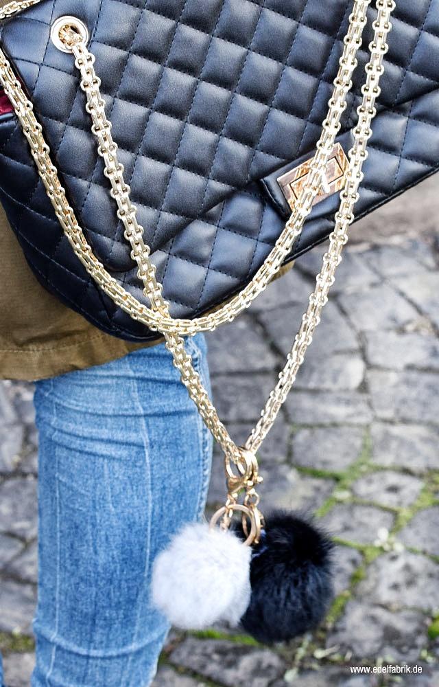 Gesteppte Chanel Tasche Lookalike