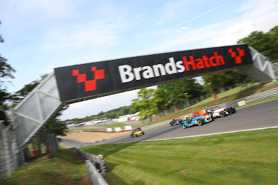 Qualified 5th for the first Caterham Roadsport Race at Brands Hatch Indy in 2018