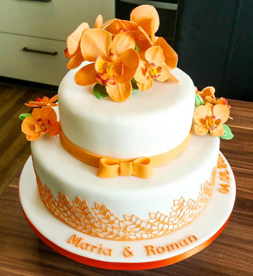 Kreativ Mit Betty Hochzeitstorte Maria Roman