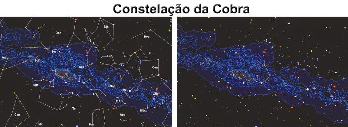 constelação da cobra