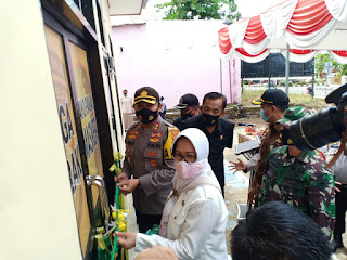 Wakil Bupati Sinjai Hadiri Peresmian Klinik Pratama Sanika Satyawada Polres Sinjai