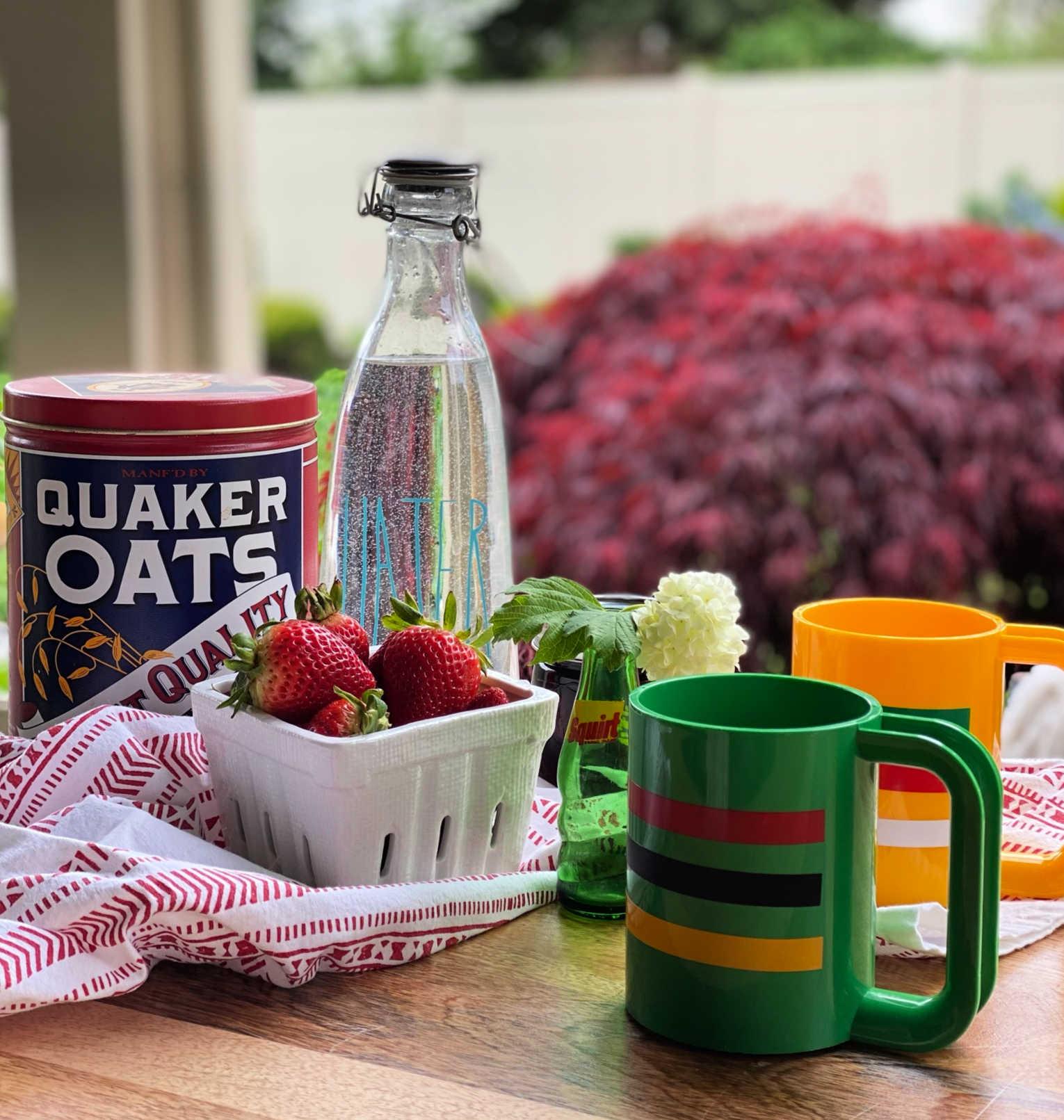 striped mug like pendleton glacier bay or point blanket