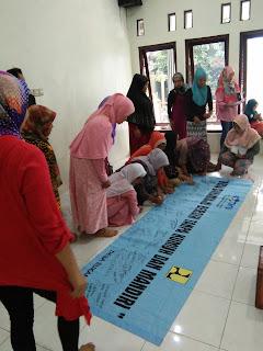 Komitmen Bersama Membangun Lingkungan Tanpa Kumuh (LITAKU) Desa Sukamaju Kecamatan Cibungbulang Kabupaten Bogor.