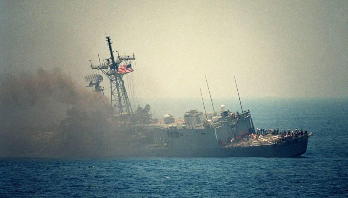 Kehancuran armada Angkatan Laut AS oleh senjata baru