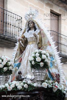 Virgen de la Cabeza Baeza procesión
