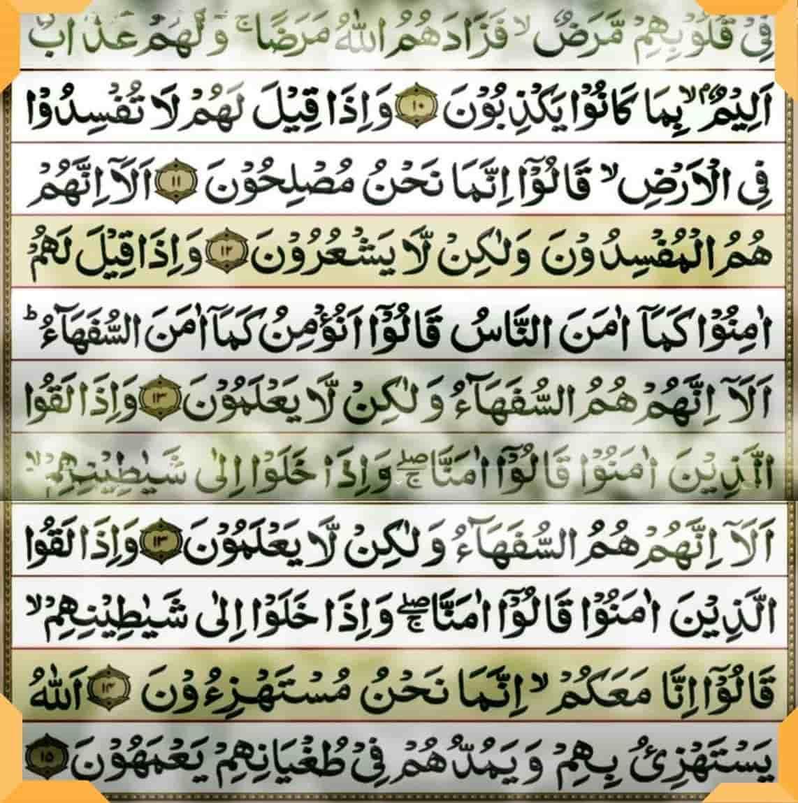 कुरान शरीफ की तिलावत हिंदी अर्थ