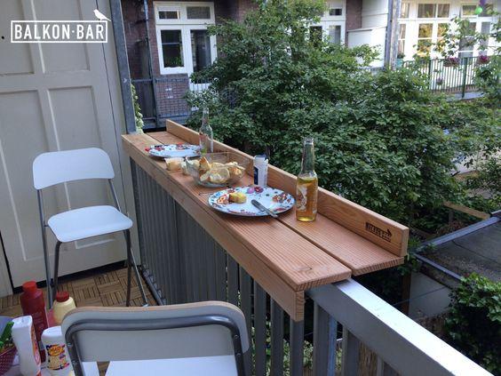 бар на балконе