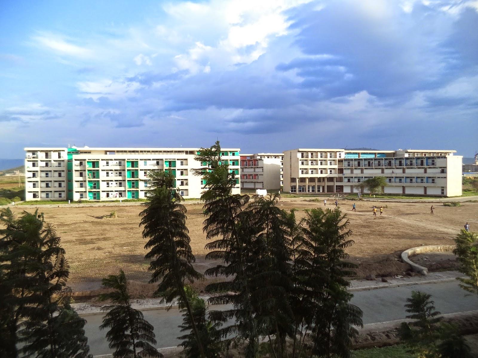 Hawassa university main campus