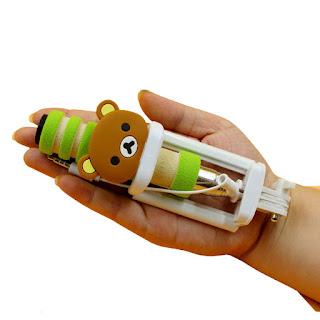 Mini Monopod Selfie Stick Rilakkuma Green