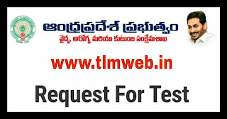 Request for Covid test....
