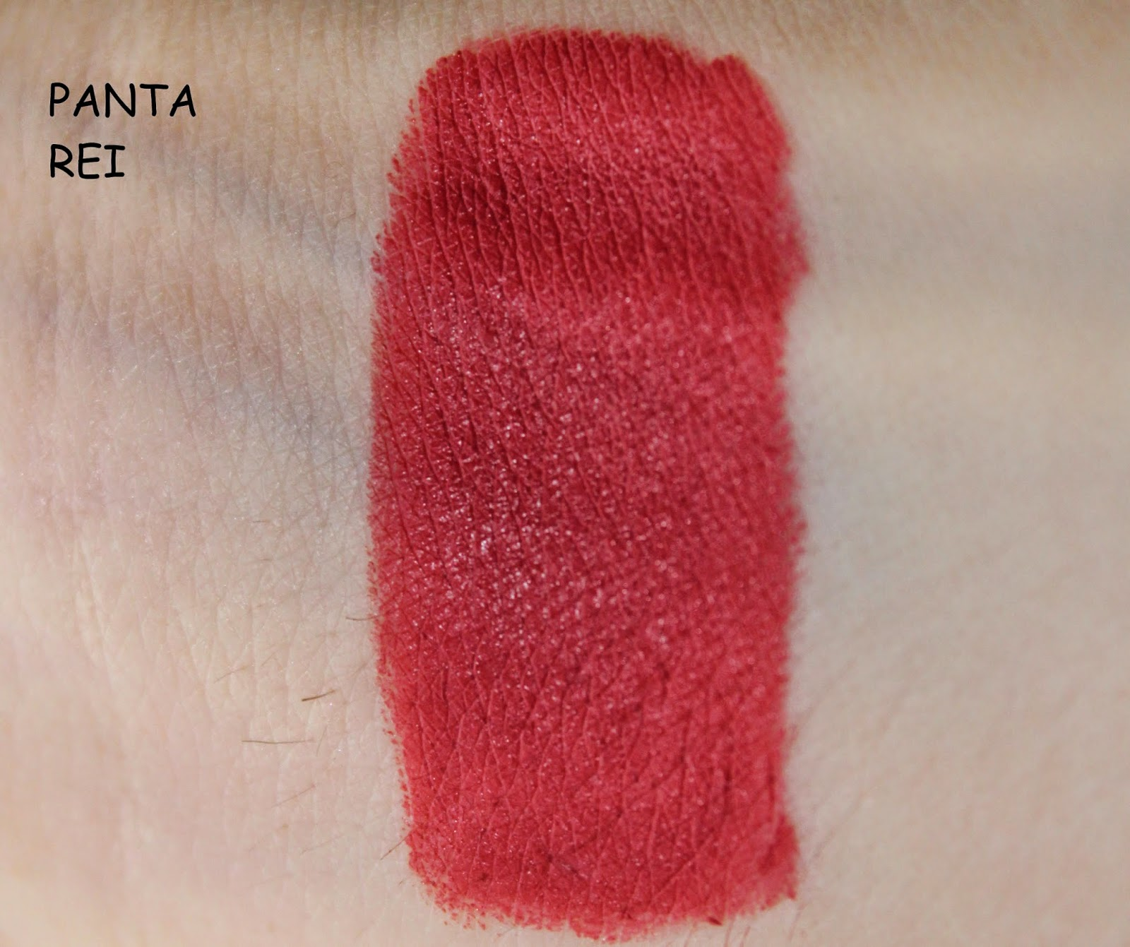 NABLA DIVA CRIME: SWATCHES