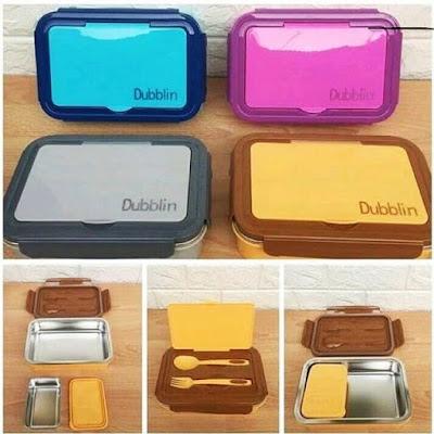 Dubblin Buffet Stainless Lunchbox