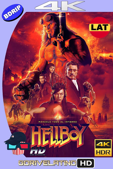 Hellboy (2019) BDRip 4K HDR Latino-Ingles MKV