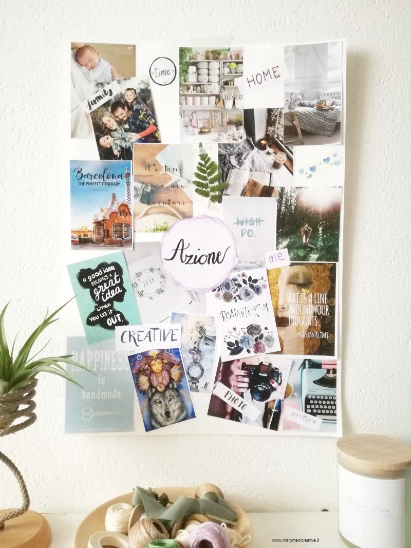Come creare una visual board per fissare i tuoi obiettivi