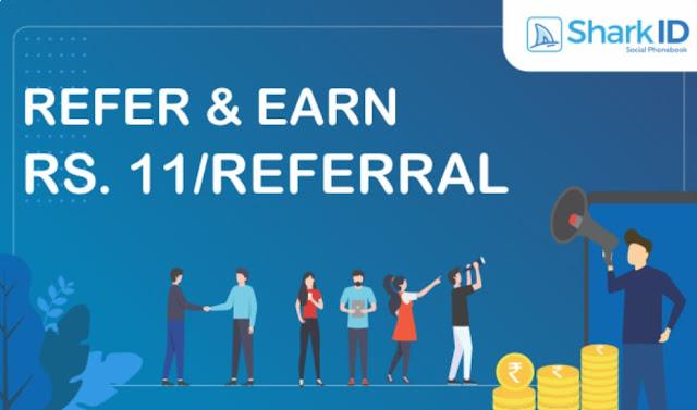 SharkID | Holi Dhamaka Offer | Free Paytm Cash | Best Refer & Earn - Apps