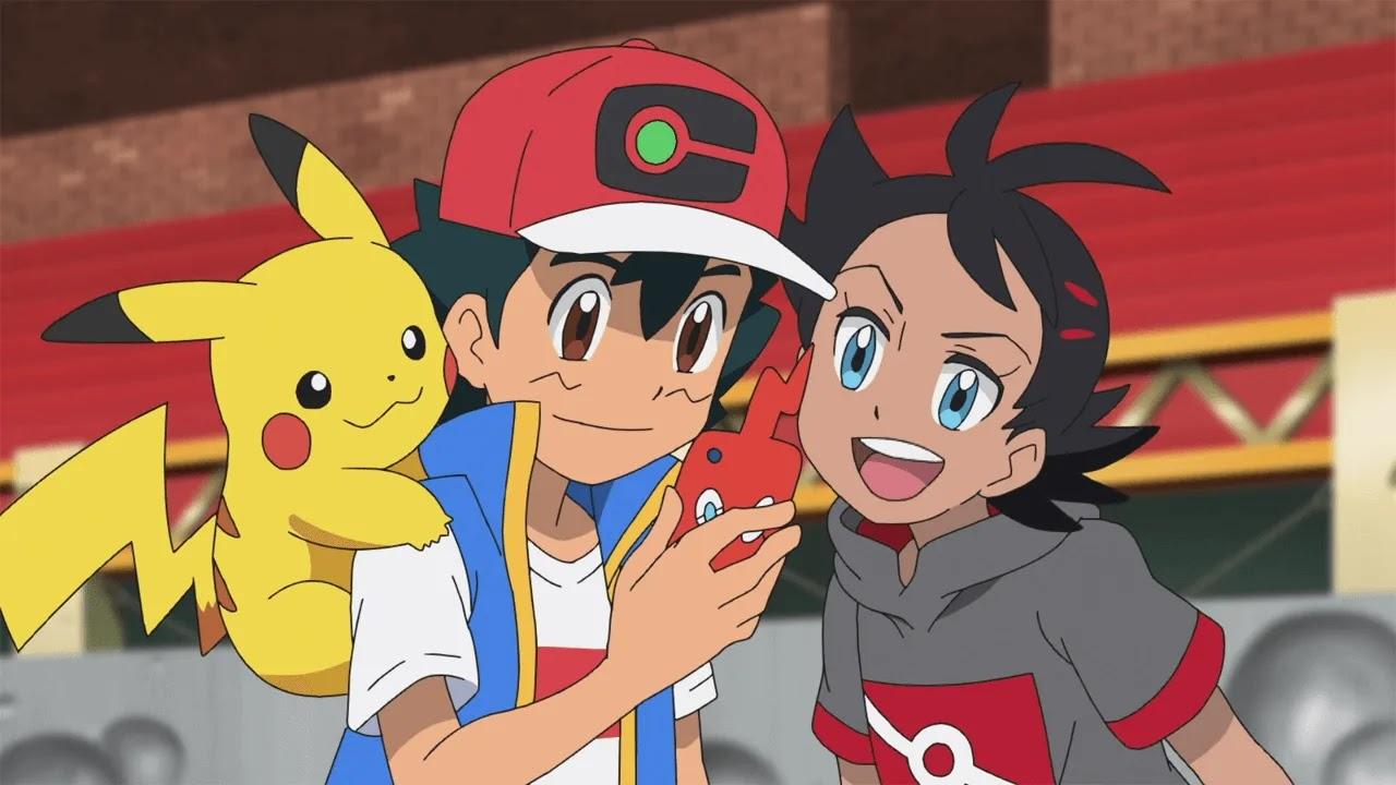 Screen z Pokémon Journeys