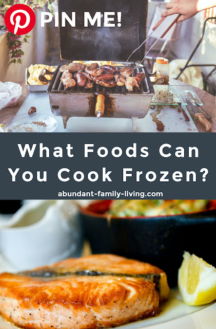 What Foods Can You Cook Frozen?