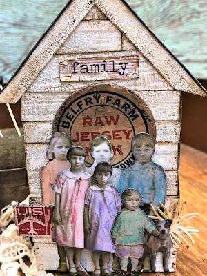 Sara Emily Barker https://sarascloset1.blogspot.com/2019/06/memories-of-home-for-frilly-and-funkie.html Memories of Home Tim Holtz Tiny Houses  3