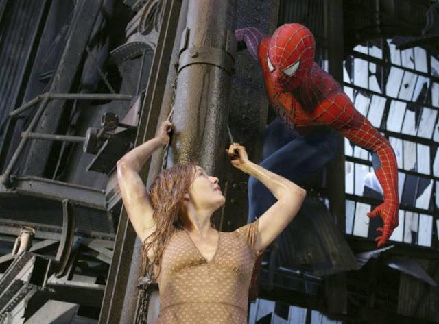 Esta escena icónica de SpiderMan no usó efectos especiales