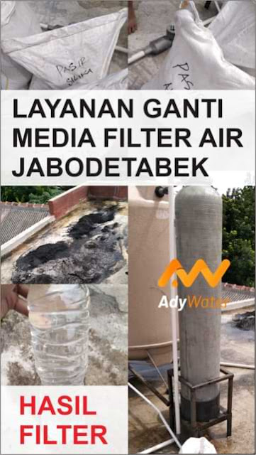 layanan ganti media filter air jabodetabek