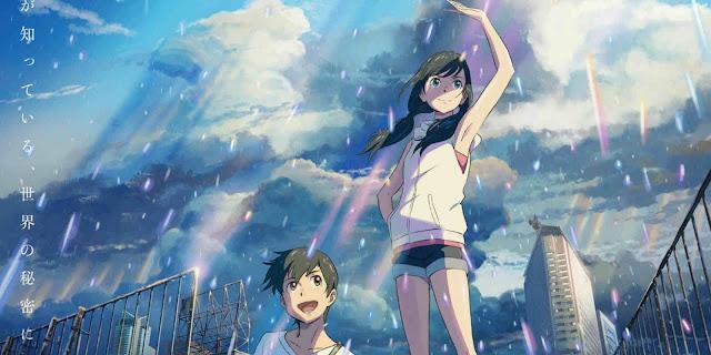 Film Anime 'Weathering With You' Mendapat Penghasilan 1.64 Miliar Yen Dalam 3 Hari Pemutaran Pertamanya