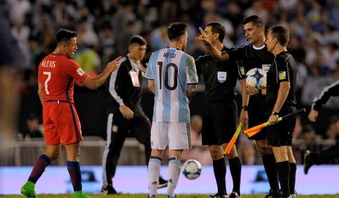 Messi suspendido Conmebol
