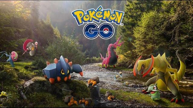Pokemon GO'da güncelleme ve yeni Teselia Pokemon