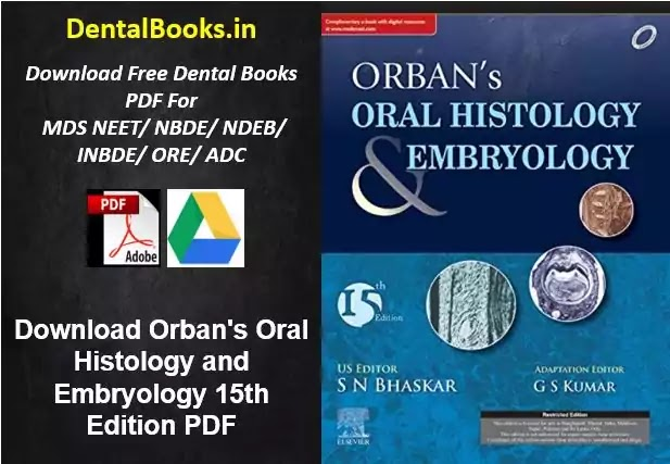 Download Orban's Oral Histology and Embryology 15th Edition PDF