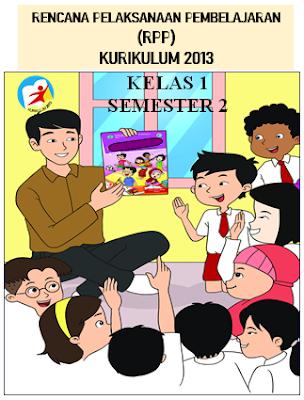 Revisi RPP K-13 Kelas 1 Semester 2 Versi 1 Lembar Semester 2