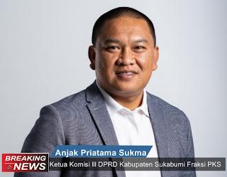 Ketua Komisi III DPRD Kabupaten Sukabumi