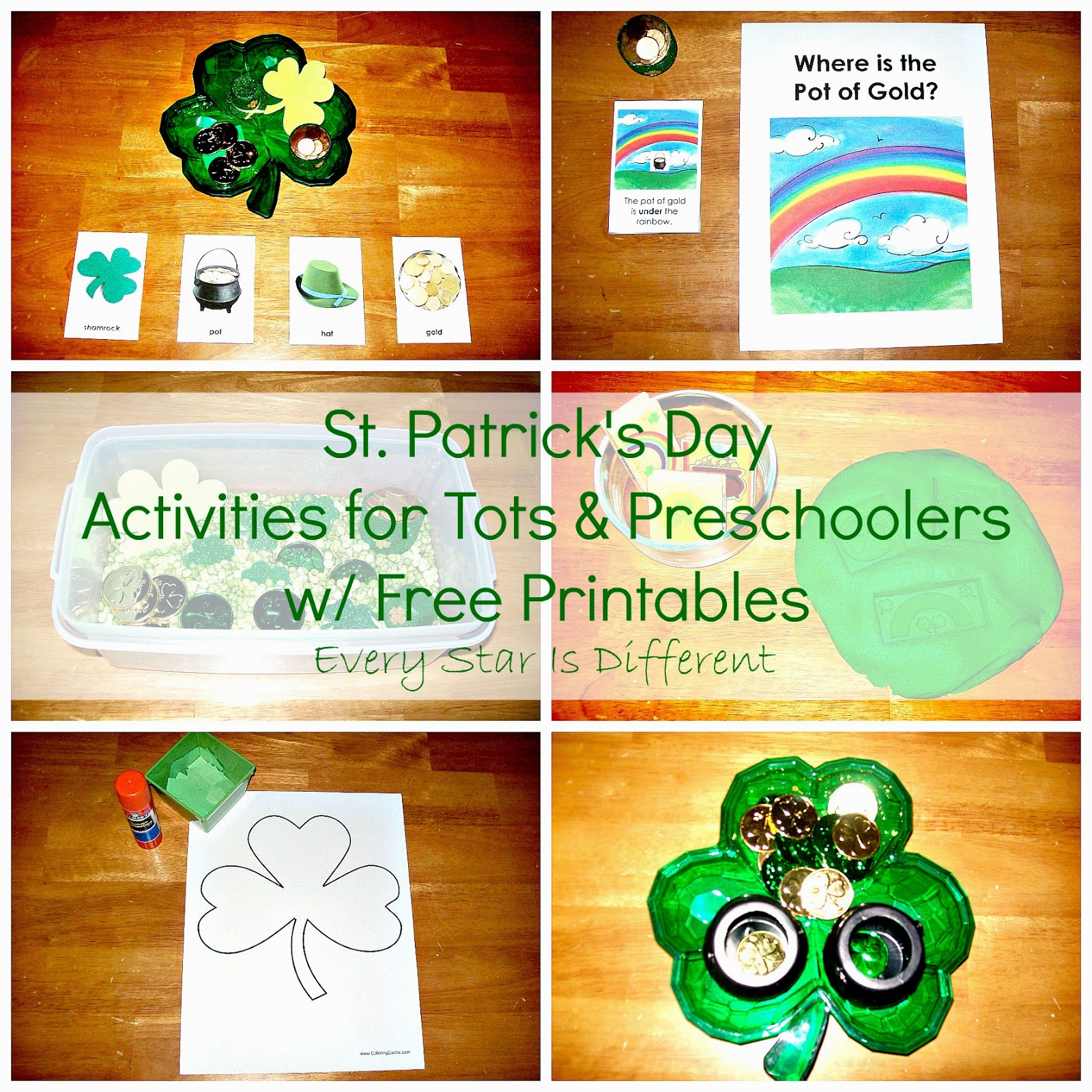 St. Patrick's Day Activities for Tots