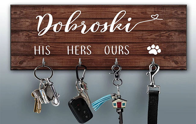 Key Ring Holder: 7 Impressive Gift Ideas for Married Couples: eAskme