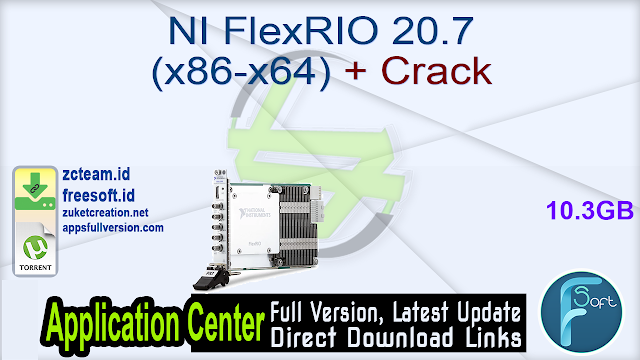 NI FlexRIO 20.7 (x86-x64) + Crack_ ZcTeam.id