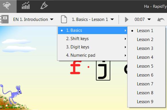 Tải RapidTyping - Phần mềm gõ 10 ngón Rapid Typing 5.4 bản mới nhất b