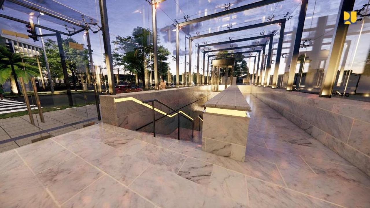 Proyek Terowongan Penghubung Masjid Istiqlal dan Gereja Katedral Sudah 20 Persen