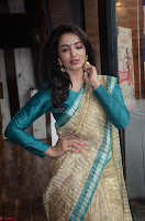 Tejaswi Madivada looks super cute in Saree at V care fund raising event COLORS ~  Exclusive 012.JPG