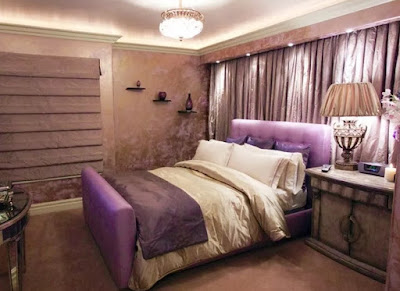 desain kamar tidur romantis terbaru