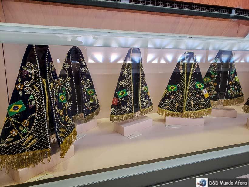 Mantos de Nossa Senhora em Exposição na Cúpula do Santuário Nacional de Aparecida