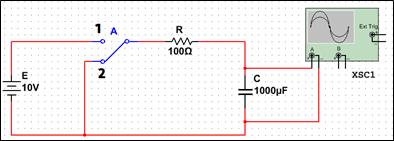 simulation condensateur